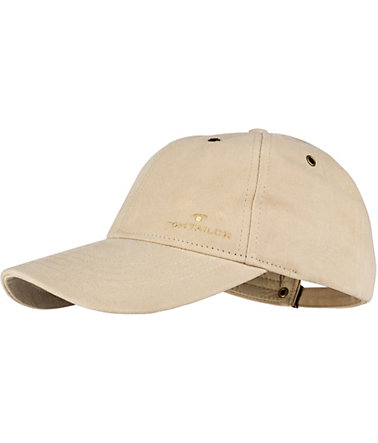 Tom Tailor Baseball Cap - beige