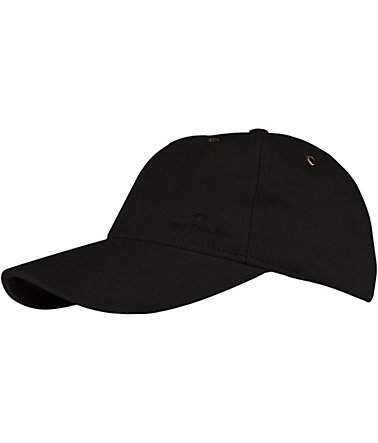 Tom Tailor Baseball Cap - schwarz