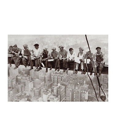 Home affaire, Wandbild, »Eating above Manhattan«, 90/60 cm -