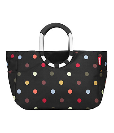 REISENTHEL® Loopshopper M »dots« - schwarz