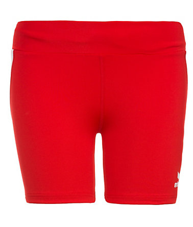 ERIMA Short Tight Damen - rot/weiß - 3232