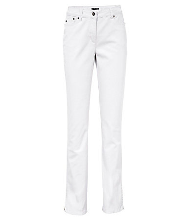 ASHLEY BROOKE by Heine Bodyform-Push-up-Jeans 5-Pocket Röhre - weiß - 1717 - Kurz-Größen