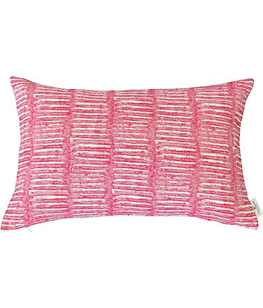 Kissenhülle, Tom Tailor, »Dashed Weaving« (1 Stück) - pink - 35x55cm35