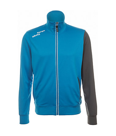 KEMPA Blue Track Top Kinder - blau/anthrazit - S-1640