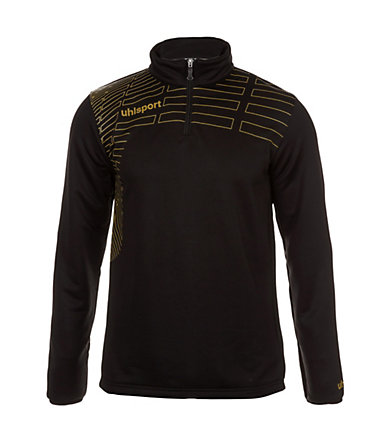 UHLSPORT Match 1/4 Zip Top Herren - schwarz/gold - L-520