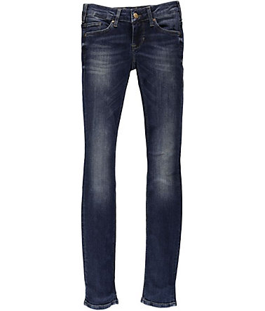 MUSTANG Stretchjeans »Gina Skinny« - darkscratchedused - 2525 - 32