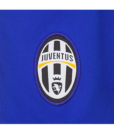 NIKE Juventus Turin Short Away Stadium 2014/2015 Kinder - blau/gold - L-147-158cm0