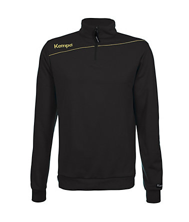 KEMPA Gold 1/4 Zip Top Kinder - schwarz - S-1640