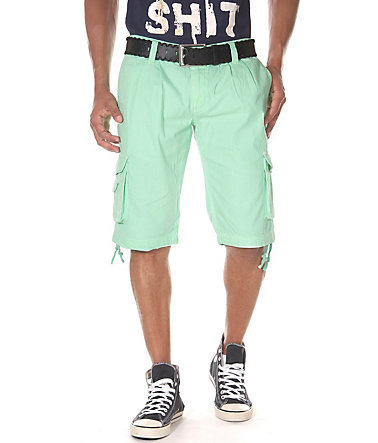 JENERIC Cargoshorts regular fit - grün - 3232