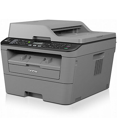 Brother Monolaser-Multifunktionsdrucker »MFC-L2700DW 4in1« - Grau