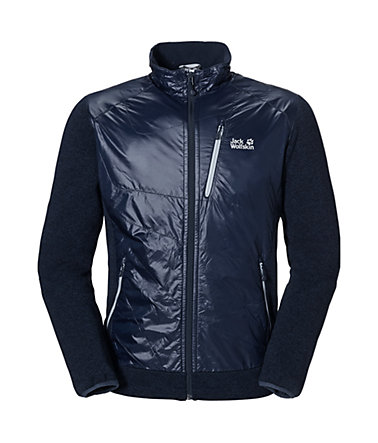 Jack Wolfskin Jacken »GLENWOOD ICE XT JACKET MEN« - nightblue - L(50/52)0