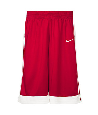 Nike National Varsity Stock Basketballshort Herren - rot/weiß - L-48/500