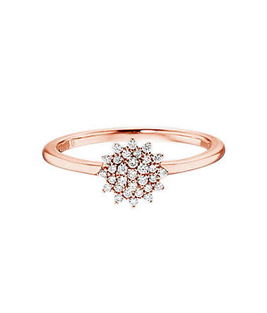 Vivance Jewels Ring mit Diamanten - roségold - 16=50mmUmfang16