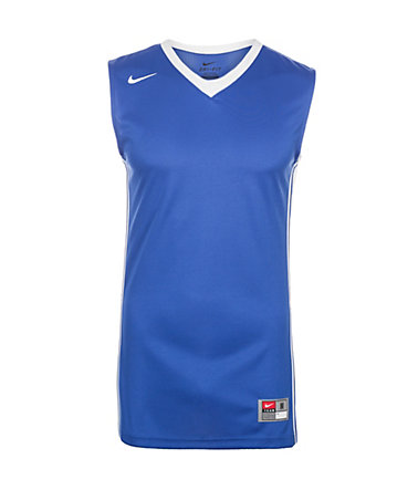 Nike National Varsity Stock Basketballtrikot Herren - blau/weiß - L-48/500