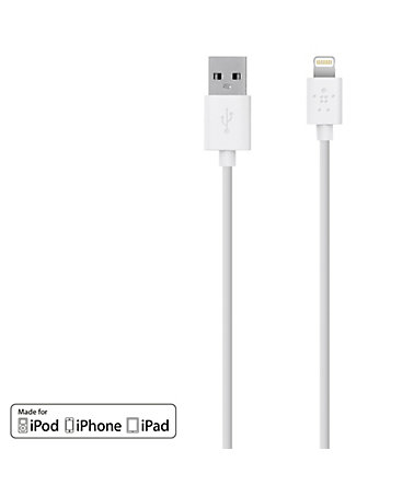 BELKIN Netzteil »CABLE CHARGE SYNC LIGHTNING - F8J023BT2M-WHT« -