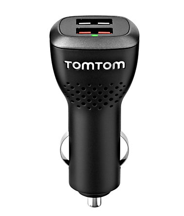 TomTom Lader »Dual Fast Charger« - Schwarz