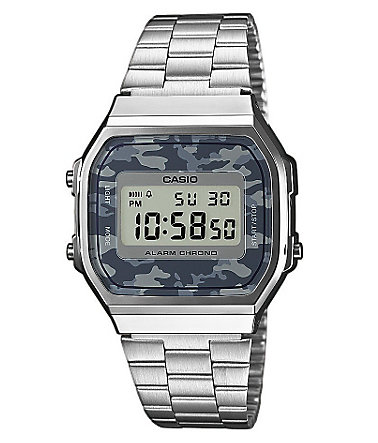 Casio Collection Chronograph »A168WEC-1EF« - silberfarben