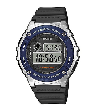 Casio Collection Chronograph »W-216H-2AVEF« - schwarz