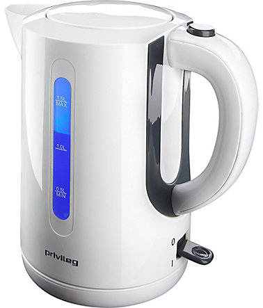 privileg Wasserkocher, 1,5 Liter, 2200 Watt -