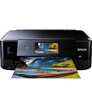 Epson Expression Photo XP-760 Multifunktionsdrucker - schwarz