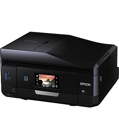 Epson Expression Photo XP-860 Multifunktionsdrucker - schwarz