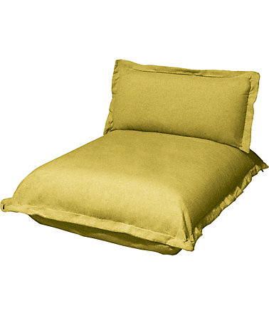 TOM TAILOR Chaiselongue lang »CUSHION«, Sitztiefe 85 cm - 51(=mustardgreenTBO5) - StrukturfeinTBO