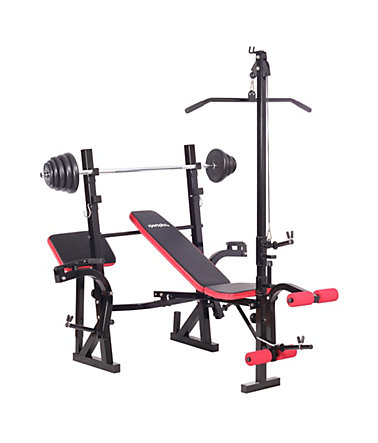 Hantelbank, »Weight Bench SP-WB-005-Set«, Sportplus -