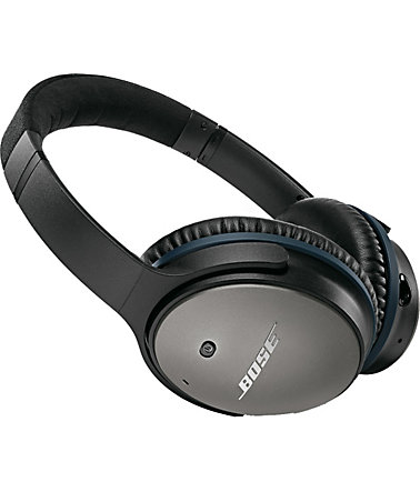 Bose® QuietComfort® QC 25 Acoustic Noise Cancelling® Headphones für Apple Geräte - schwarz