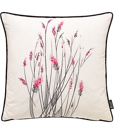 Kissenhülle, Emotiontextiles, »little inkflower« - orchidee - 50x50cm50