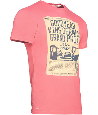 Goodyear T-Shirt »CANTON« - Red - L0