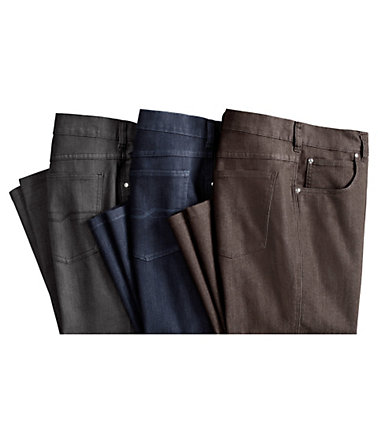 Classic Basics Jeans in 5-Pocket-Form - darkblue - 2323 - U-Größen