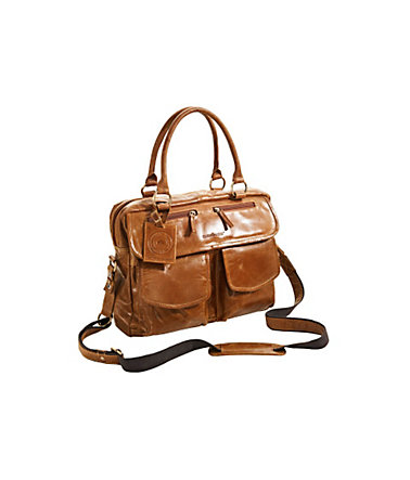 Greenburry Businesstasche  - cognac - ca.30/43/20cm0