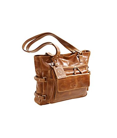 Greenburry Shopper  - cognac - ca.31/40/14cm0