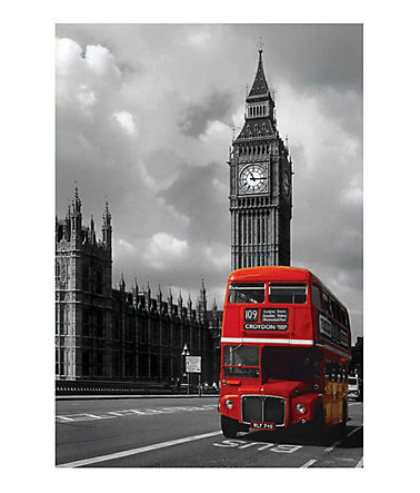 Premium Picture, Wandbild, »London Red Bus«, 60/90 cm -