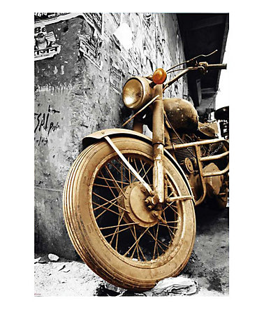 Premium Picture, Wandbild, »Brown Motorcycles«, 60/90 cm -