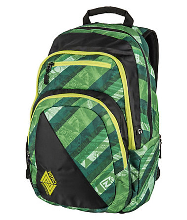 Nitro Schulrucksack, »Stash - Wicked Green« -