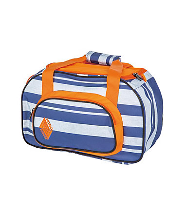 Nitro Reisetasche, »Duffle Bag XS - Heather Stripe« -