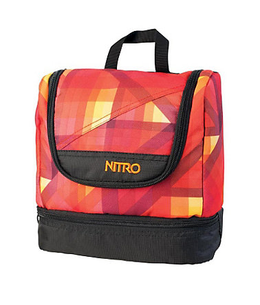 Nitro Reise-Waschbeutel, »Travel Kit - Geo Fire« -