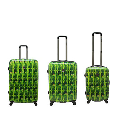 Saxoline blue, Trolley mit 4 Rollen, »Frogs« - 4949