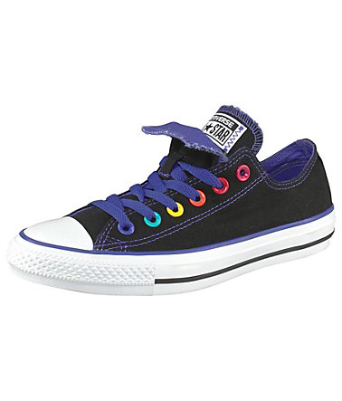 Converse Sneaker »Chuck Taylor All Star Double Tongue Ox« - schwarz - 3636 - EURO-Größen