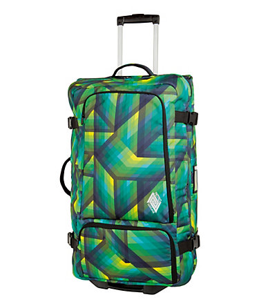 Nitro Trolley-Reisetasche mit 2 Rollen, »Team Gear Bag - Geo Green« -