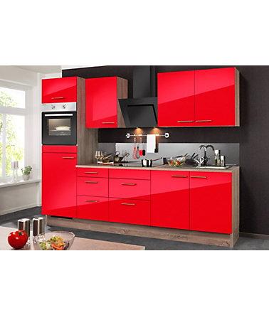optifit k chenzeile mit e ger ten knud breite 270 cm k chenzeilen mit ger ten. Black Bedroom Furniture Sets. Home Design Ideas