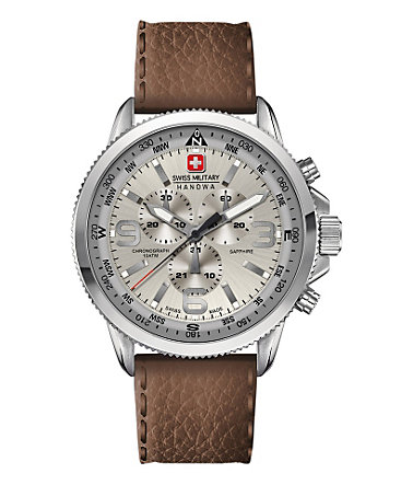 Swiss Military Hanowa Chronograph »ARROW CHRONO, 6-4224.04.030« - braun