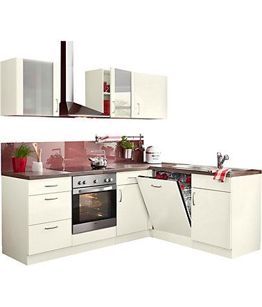 winkelk che br ssel mit e ger ten stellbreite 220 x 170 cm mit 38 mm starker arbeitsplatte. Black Bedroom Furniture Sets. Home Design Ideas