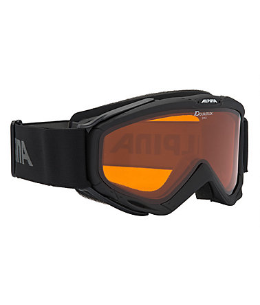 Skibrille schwarz, Alpina, »SPICE«, Made in Germany -