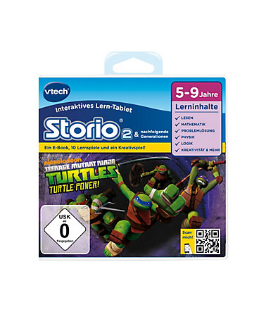VTech Lernspiel, »Storio 2 - Teenage Mutant Ninja Turtles« -