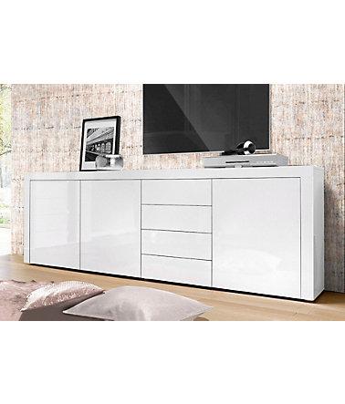 borchardt m bel sideboard breite 201 cm kommoden sideboards. Black Bedroom Furniture Sets. Home Design Ideas