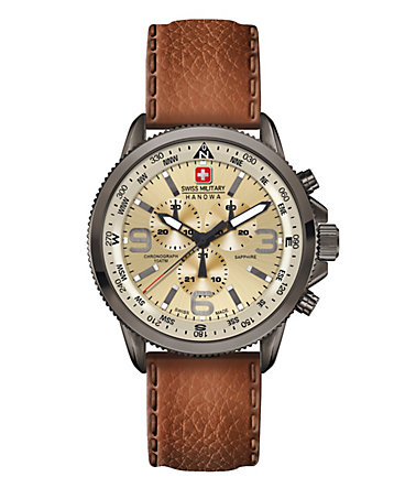 Swiss Military Hanowa Chronograph »ARROW CHRONO, 06-4224.30.002« - braun