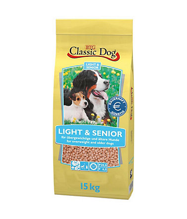 Classic Dog Hundetrockenfutter »Light & Senior«, 15 kg - 15kg