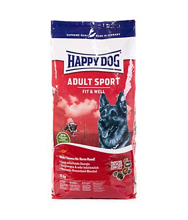 Happy Dog Hundetrockenfutter »Supreme Fit & Well Sport«, 15 kg - 15kg